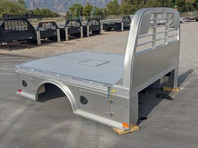 New! CM ALSK Fully Skirted Aluminum Skirted Truck Beds
