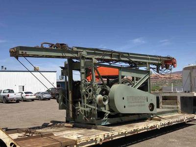 Bucyrus-Erie 60L Cable Tool Drill Rig