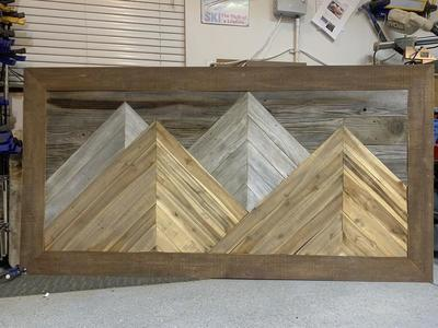 Reclaimed Barn Wood Headboards