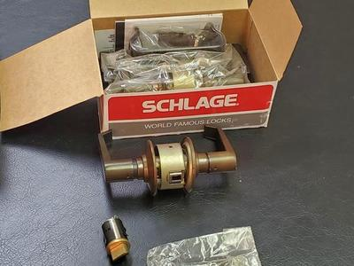 Schlage World Famous Locks Passage Latch