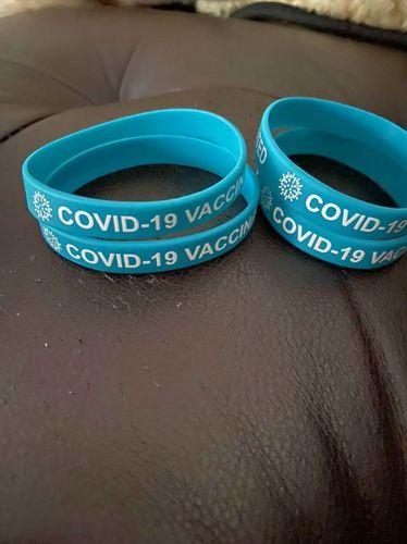 COVID 19 Vaccinated Bracelets  for sale in South Jordan , UT