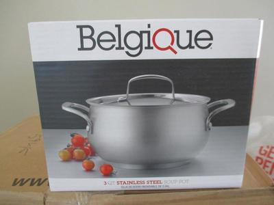 New Belgique 3-Qt. Soup Pot with Lid