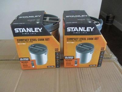 Stanley Mountain Compact Cook Set, Stainless Steel