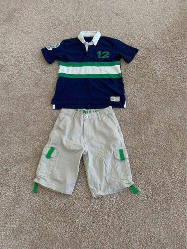 US Polo Assn cargo shorts + GapKids Polo, boys, size 8-10 for sale in Lehi , UT