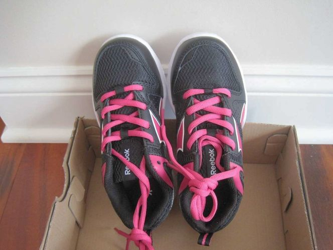 BNIB Reebok Clean Shot CXT Little girls Athletic Shoes, size12, laceup for sale in Lehi , UT