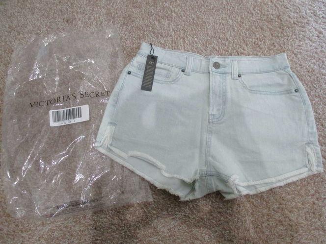 NWT Victoria's Secret High Rise Women's Denim shorts, Size 4 for sale in Lehi , UT