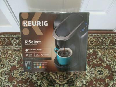 BNIB Keurig K-Select K80 Single-Serve K-Cup Pod Coffee Maker in Matte Black