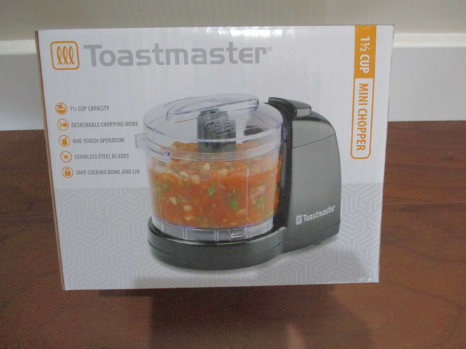 Brand New Toastmaster 1.5 cup mini chopper, UPC removed for sale in Lehi , UT