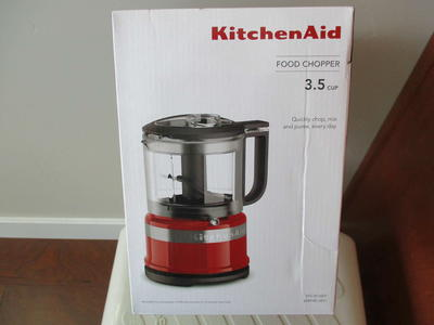 BNIB KitchenAid KFC3516 3.5-Cup Food Chopper, Empire Red