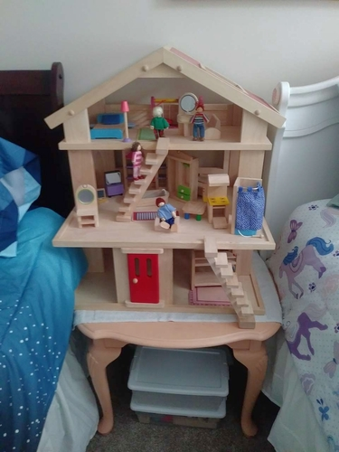 WOODEN DOLL HOUSE for sale in Syracuse , UT