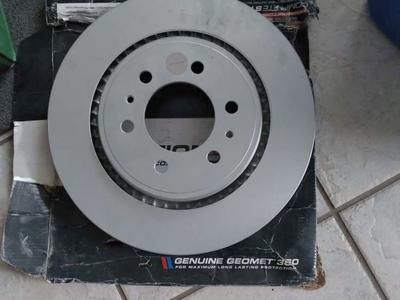Power stop evolution coated rotor
