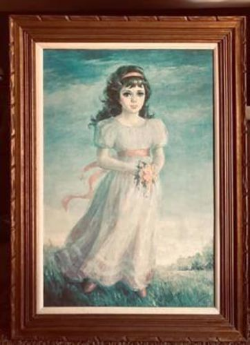 Melody In Pink Oil Painting  for sale in West Jordan , UT