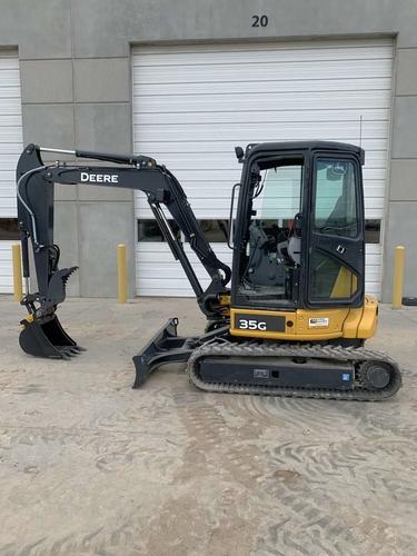 Like New John Deere 35G Mini Excavator & Dump trailer for rent! for rent in Salt Lake City , UT