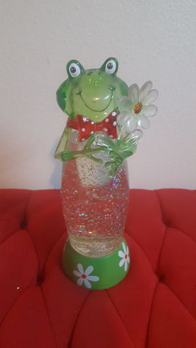 Gorgeous Snow Sparkling Frog in Mint Condition Makes Frog Sound for sale in Taylorsville , UT