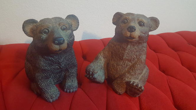 Gorgeous Ceramic Mamma and Pappa Bear Set for sale in Taylorsville , UT