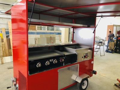 Taco Cart Brand New  7x3 Ready To Work