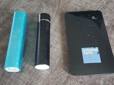 3 Compact Battery Packs