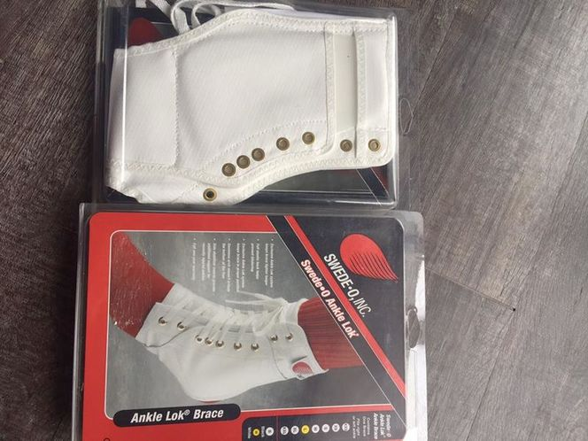 Swede-O Ankle Lok Guards Size Large White Unisex for sale in Sandy , UT