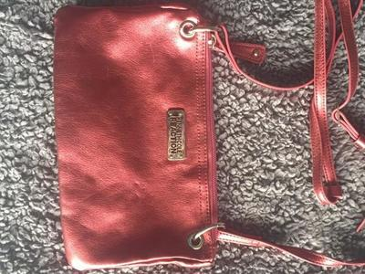 Kenneth Cole Reaction Pink Crossbody Purse Bag
