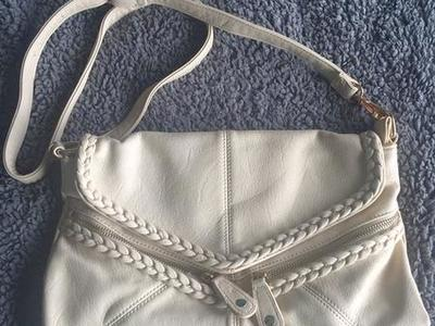 Maurice's Cream Cross Body Purse Bag
