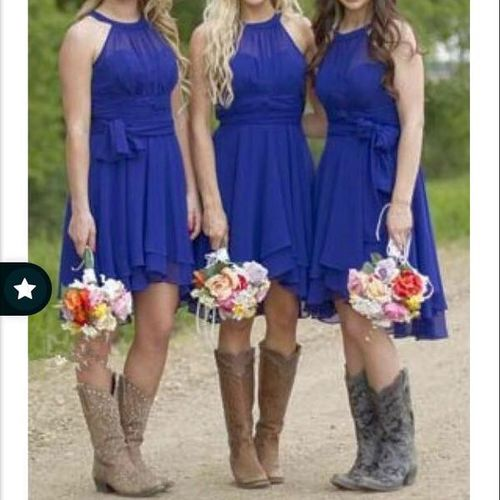 Royal Blue Bridesmaid Homecoming Dance Dress  for sale in Sandy , UT