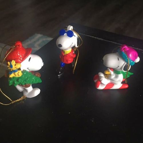 Hallmark Peanuts Snoopy Ornaments  for sale in Sandy , UT