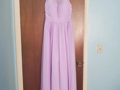 JJs House Lavender Floor Length Dress Gown