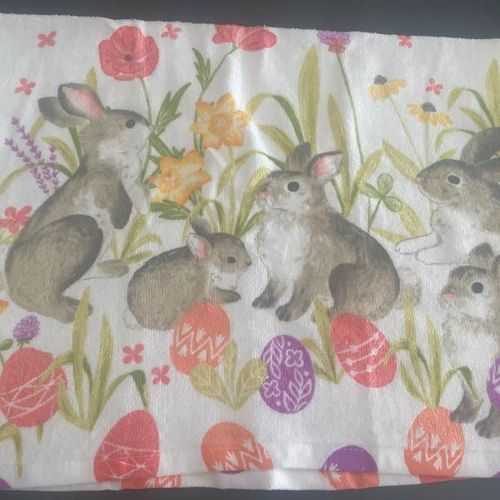 NEW Easter Egg Bunny Rabbit Dish Decorative Towel for sale in Sandy , UT