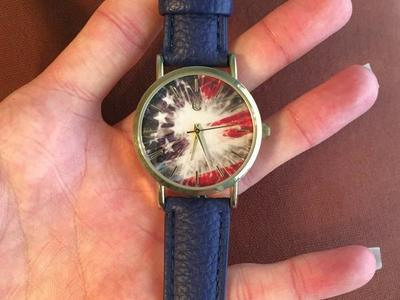Navy Band 4th of July American Flag Watch