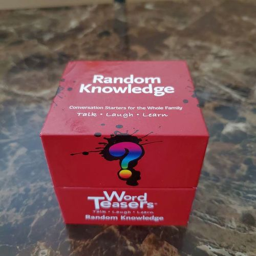 Word Teasers Random Knowledge Card Game for sale in Sandy , UT