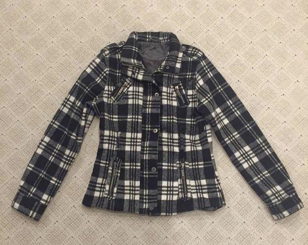 JOUJOU Black & White Plaid Jacket MEDIUM  for sale in Murray , UT
