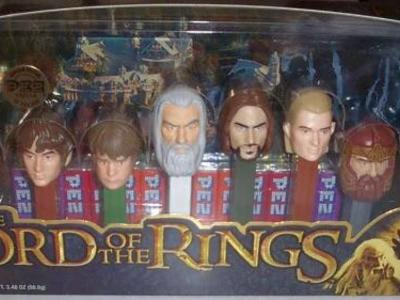 8 Lord of the Rings Collectible Pez Set