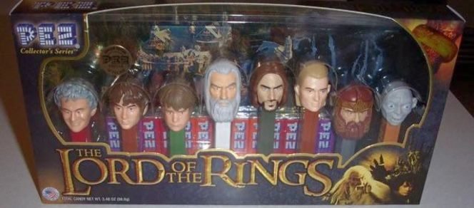 8 Lord of the Rings Collectible Pez Set for sale in Murray , UT
