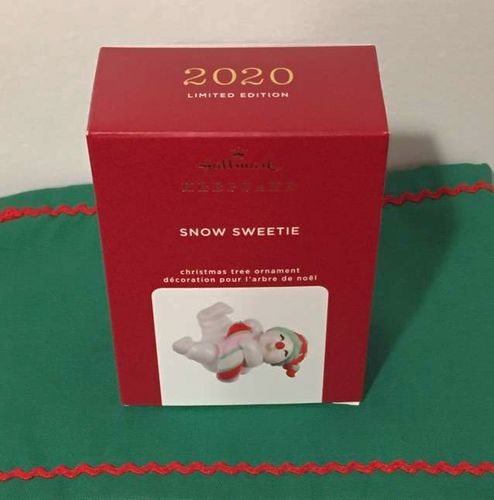 Hallmark 2020 Limited Edition Snowman Ornament  for sale in Murray , UT