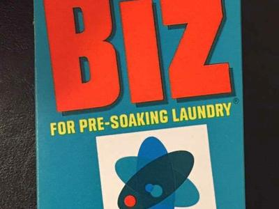 Vintage Box of Biz Laundry Wash