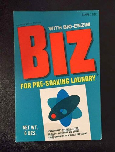 Vintage Box of Biz Laundry Wash for sale in Murray , UT