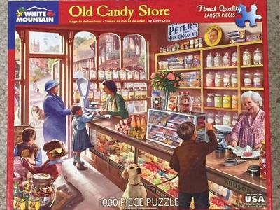 Old Candy Store Puzzle 1000 Pieces
