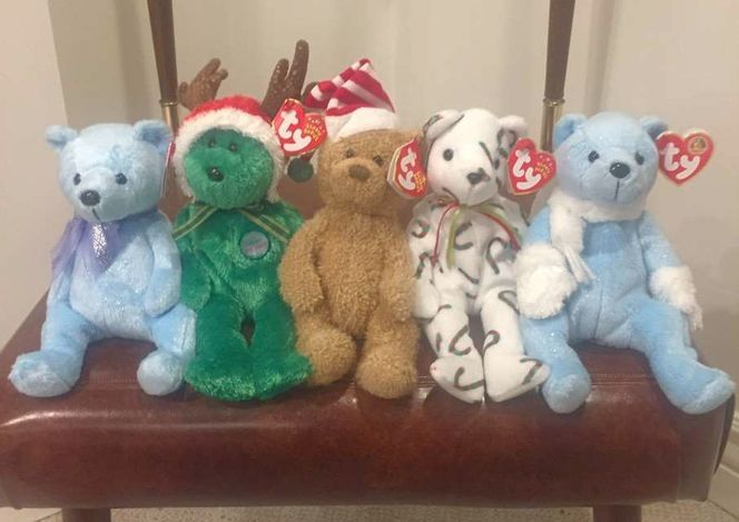 10 Vintage Holiday Beanie Babies  for sale in Murray , UT
