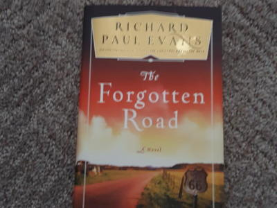 Authograghed The Forgotten Road by Richard Paul Evans