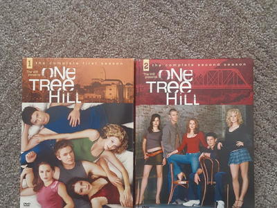 One Tree Hill First and Second Seasons DVDS