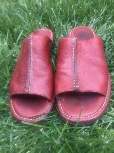 Red Cole Haan Leather Size 9 Sandals for sale in Riverton , UT