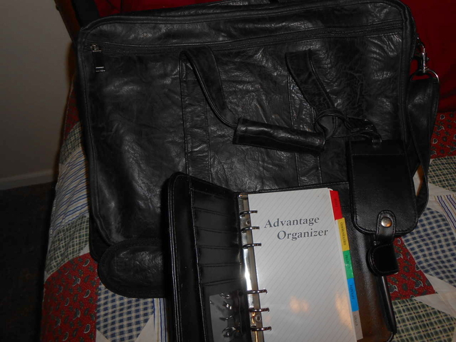 Leather Laptop Case/Bag and Car Accessory for sale in Spanish Fork , UT