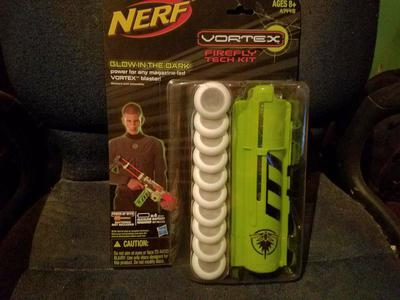 NERF vortex firefly tech kit