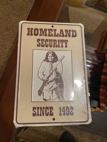 Homeland Security Since 1472 Wall Plate NEW for sale in Springville , UT