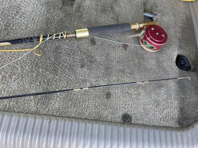 S.I.R. Engineered 8' Fly Fishing Rod Martin 49 Ree
