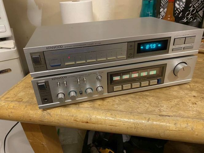 Kenwood Stereo Amplifier And Tuner In Very Good Co for sale in Springville , UT