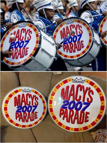 Macy's 2007 Parade HIGHLY COLLECTABLE DRUM HEADS for sale in Springville , UT