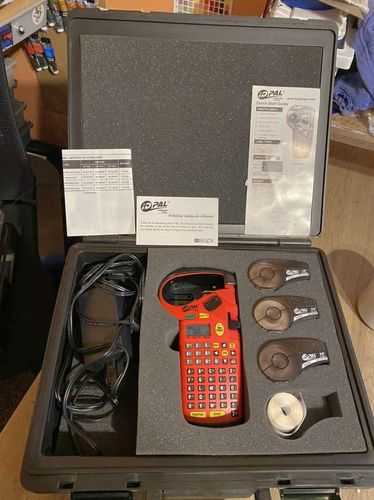 ID Pal Brady Labeling Tool Label Maker With Case for sale in Springville , UT