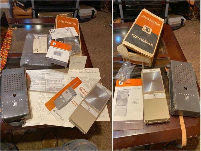 PAIR Johnson Messenger 109 Handheld Cb Radios for sale in Springville , UT