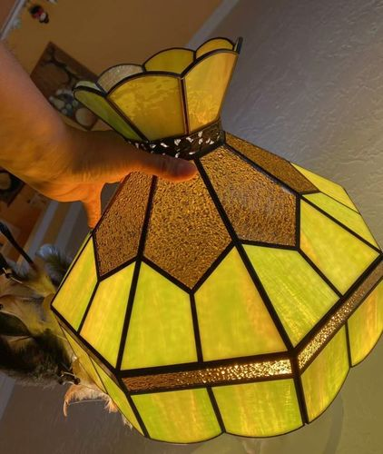 """Stained Glass 15"""" Shade VERY NICE for sale in Springville , UT"""